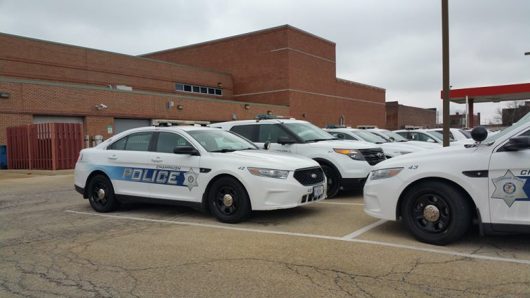 Champaign Police Cars