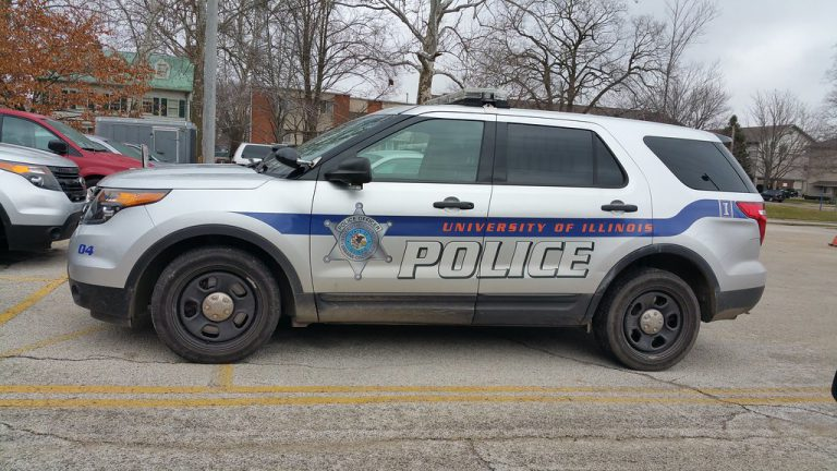 University of Illinois police vehicle