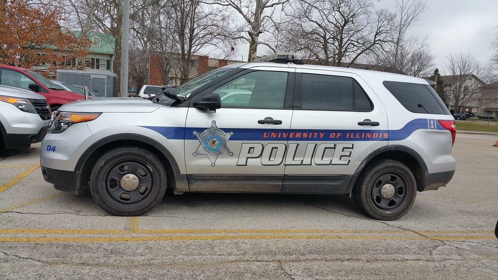 University of Illinois police vehicle