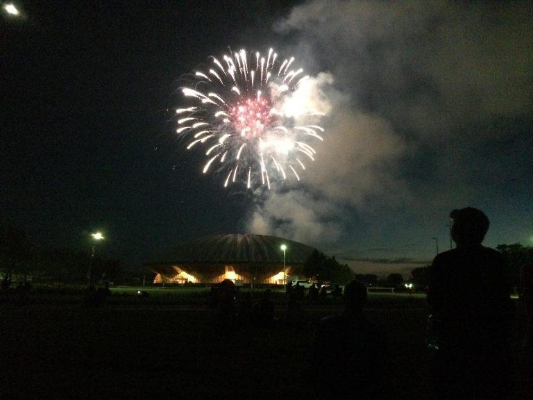 fireworks, university of illinois