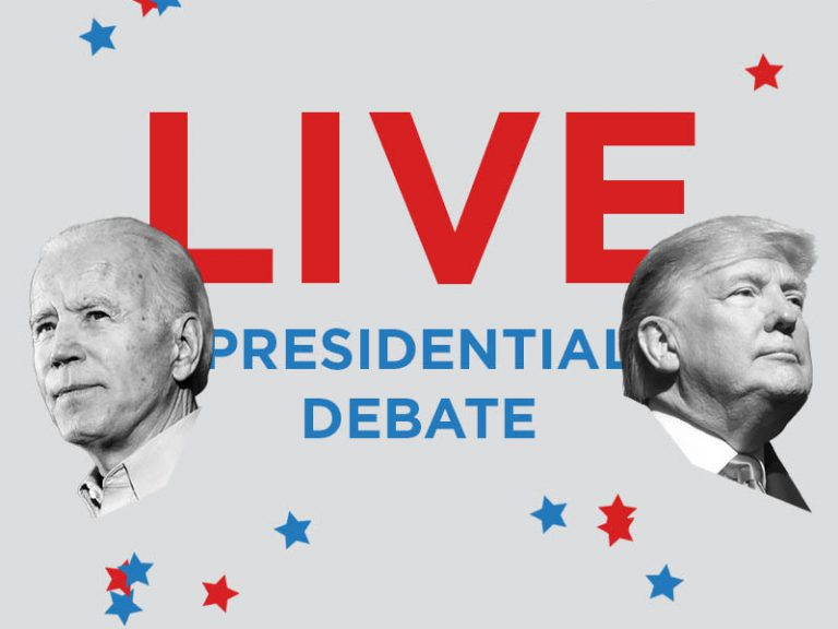 Live Trump Biden Final Presidential Debate