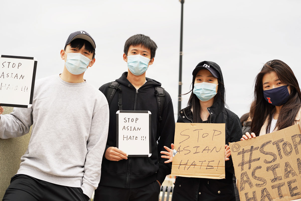 illinoisnewsroom.org: C-U Asian American Community Speaks Out About Recent Racism